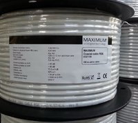 Maximum RG6  100m  Spule 6,6mm 95dB