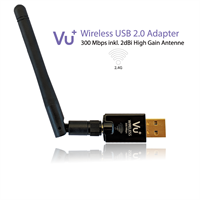 VU+ WLAN USB Adapter 300 Mbps mit Antenne